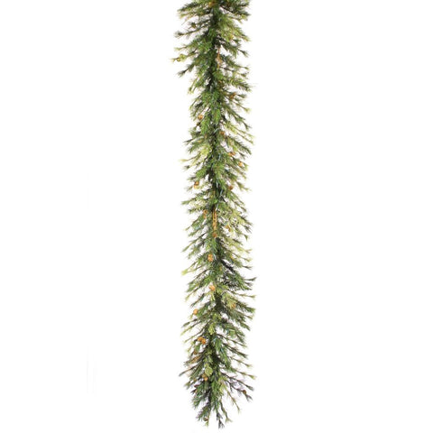 1.3' Vickerman A801717 Mixed Country Pine - Green - Peazz.com
