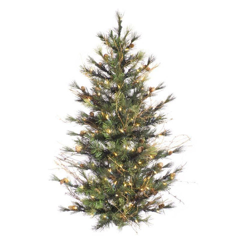 "Vickerman A801893 3' x 28"" Mixed Country Wall Tree 100C - Peazz.com"