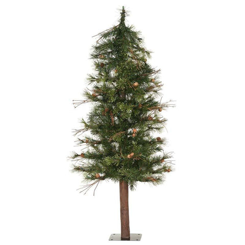 Vickerman A801970 7' Mixed Country Alpine Tree 646 tips - Peazz.com
