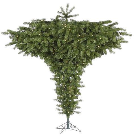 "Vickerman A860181LED 9' x 102"" Upside Down Tree 800WmWht LED - Peazz.com"