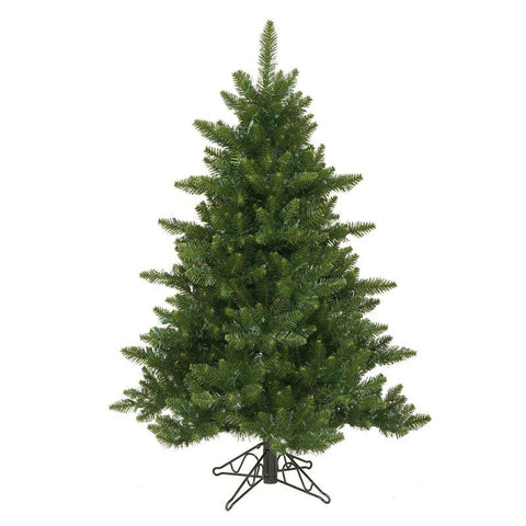 "Vickerman A860945 4.5' x 37"" Camdon Fir Tree 566 Tips - Peazz.com"