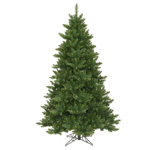 "Vickerman A860965 6.5' x 49"" Camdon Fir Tree 1270 Tips - Peazz.com"