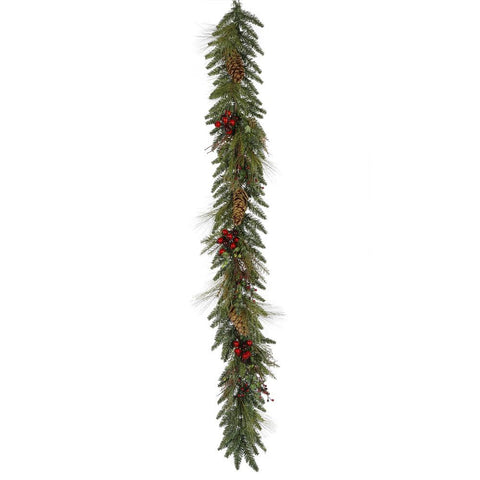 0.8' Vickerman S103410 Regal Mix Pine - Green - Peazz.com
