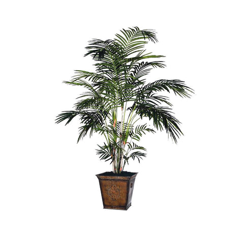 6' Tropical Palm Extra Full/Square Metal by Vickerman - Peazz.com