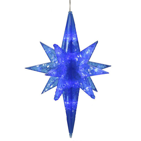 "Vickerman X126302 50 Light x 20"" Blue Led Bethlehem Star - Peazz.com"