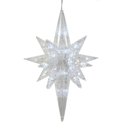 "Vickerman X126309 50 Light x 20"" PureWhite Led Bethlehem Star - Peazz.com"