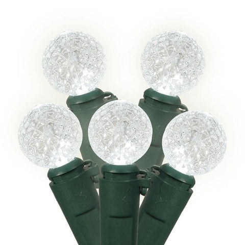 "Vickerman X4G0509 50 Light LED PureWhite/Gw Berry Ec 4""Sp 16'L - Peazz.com"