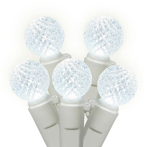 "Vickerman X4W0509 50 Light LED PureWhite/Ww Berry Ec 4""x16'L - Peazz.com"