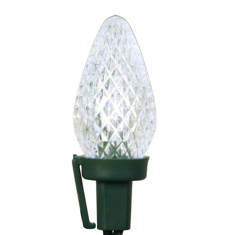 "Vickerman X8GC729 25 Light LED C7 PurWhite Refl Ec Set Gw 8""Sp - Peazz.com"