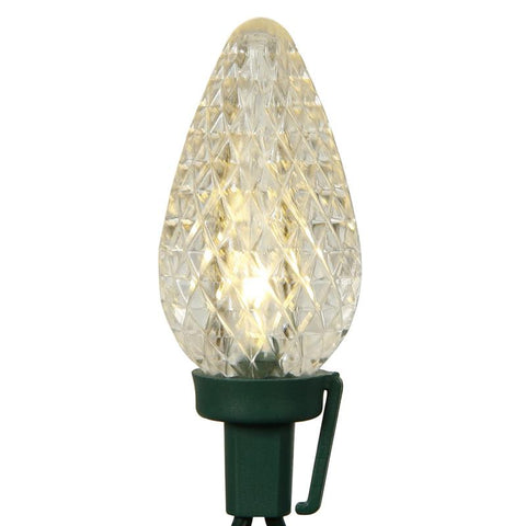 "Vickerman X8GC921 25 Light LEDC9 WmWhite Refl Ec Set Gw 8""S 16'L - Peazz.com"