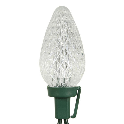 "Vickerman X8GC929 25 Light LED PureWhite C9Refl Ec Set Gw 8""Sp - Peazz.com"