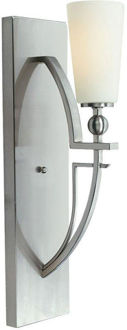 Woodbridge Lighting Aurora Indoor Lighting Wall Sconce 12241-STN - Peazz.com