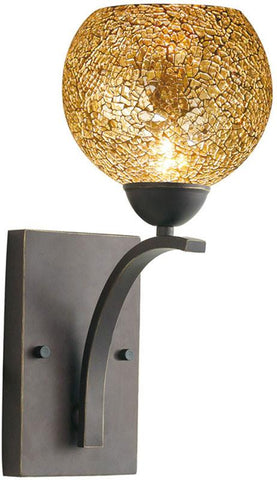 Woodbridge Lighting North Bay Indoor Lighting Bath/Wall Sconce 13051MEB-M00MIR - Peazz.com