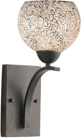 Woodbridge Lighting North Bay Indoor Lighting Bath/Wall Sconce 13051MEB-M00WHT - Peazz.com