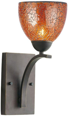 Woodbridge Lighting North Bay Indoor Lighting Bath/Wall Sconce 13051MEB-M21AMB - Peazz.com