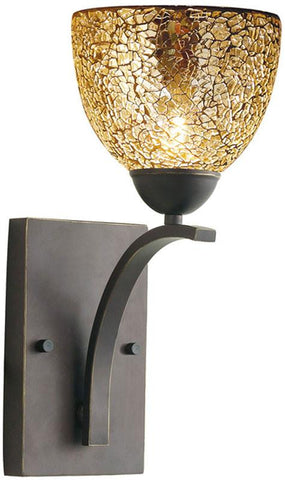 Woodbridge Lighting North Bay Indoor Lighting Bath/Wall Sconce 13051MEB-M21MIR - Peazz.com