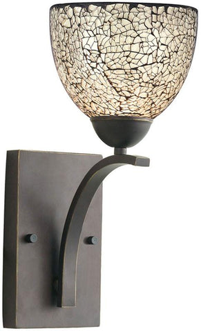 Woodbridge Lighting North Bay Indoor Lighting Bath/Wall Sconce 13051MEB-M21WHT - Peazz.com