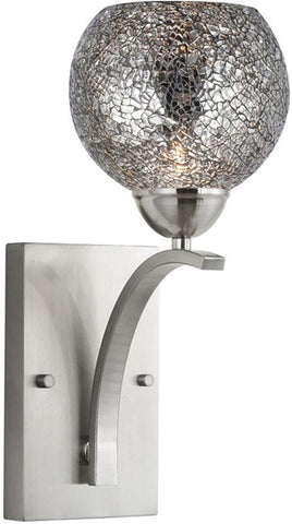 Woodbridge Lighting North Bay Indoor Lighting Bath/Wall Sconce 13051STN-M00MIR - Peazz.com