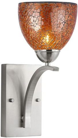 Woodbridge Lighting North Bay Indoor Lighting Bath/Wall Sconce 13051STN-M21AMB - Peazz.com