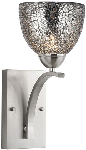 Woodbridge Lighting North Bay Indoor Lighting Bath/Wall Sconce 13051STN-M21MIR - Peazz.com