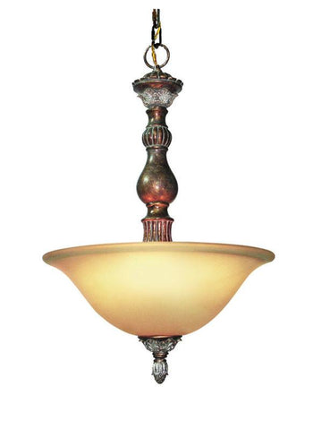 Woodbridge Lighting Worthington 2-light Bark Foyer Light - Peazz.com