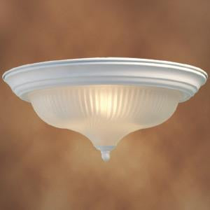 Woodbridge Lighting Interior Complements 2-light White Flush Mount - Peazz.com