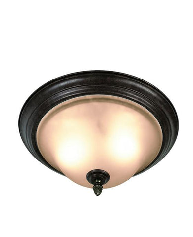 Woodbridge Lighting Harrington 2-light Bordeaux Flush Mount - Peazz.com