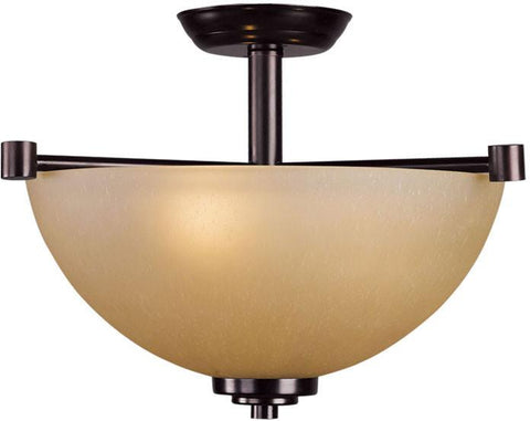Woodbridge Lighting Ajo Indoor Lighting Semi-Flush Mount 38018-CDV - Peazz.com