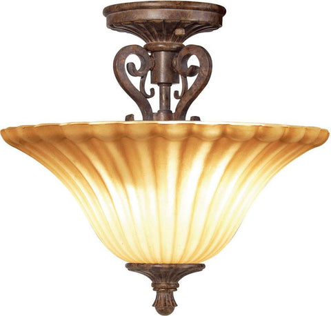 Woodbridge Lighting Avondale Indoor Lighting Semi-Flush Mount 38409-RSI - Peazz.com