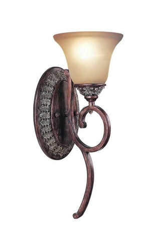 Woodbridge Lighting Worthington 1-light Bark Wall Light - Peazz.com