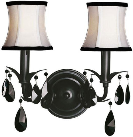 Woodbridge Lighting Avigneau Indoor Lighting Wall Sconce 42034-BLK - Peazz.com