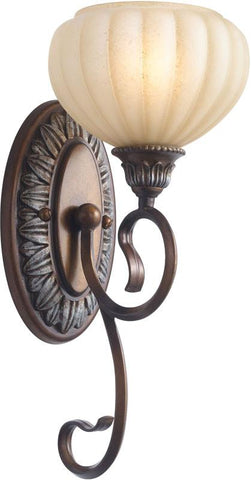Woodbridge Lighting Liezel Indoor Lighting Bath/Wall Sconce 53065-CGL - Peazz.com