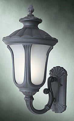 Woodbridge Lighting Westbrook Outdoor Lighting Wall 61024WL-BKP - Peazz.com