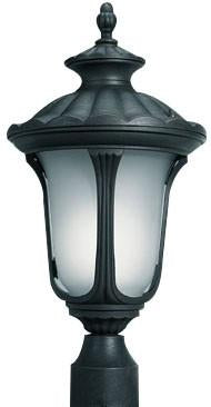 Woodbridge Lighting Westbrook Outdoor Lighting Post 61026WL-BKP - Peazz.com