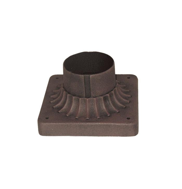 Woodbridge Lighting Outdoor - Basic Powder Coat Rust Outdoor Pier Base