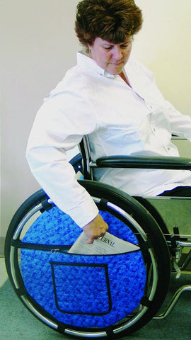 Rose Healthcare R1023 Wheelchair Wheel Pouch - Peazz.com