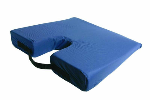 Rose Healthcare R4101N Sloping Travel Coccyx Cushion, Navy - Peazz.com