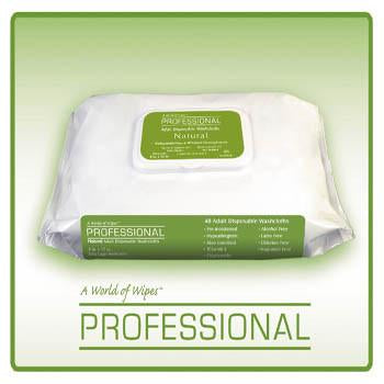 Image of A world of Wipes UNAPD-759 Adult Incontinence Wipes (48 wipes) Case of 12