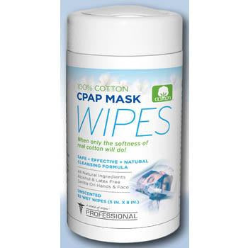 Image of A world of Wipes UNCPAP-4P CPAP Mask Wipes (62 wipes) - 4 pack