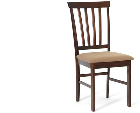 Wholesale Interiors PCH6822 Tiffany Brown Wood Modern Dining Chair - Set of 2 - Peazz.com