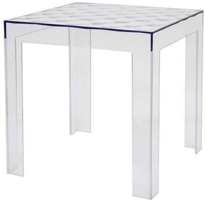 Wholesale Interiors RT-637 Parq Clear Acrylic Modern End Table - Set of 2 - Peazz.com