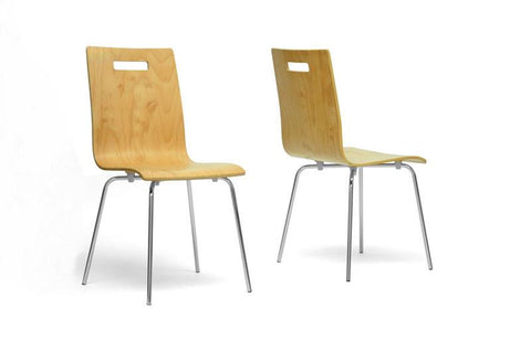 Wholesale Interiors SD-2096A-DC Stockholm Modern Dining Chair - Set of 2 - Peazz.com