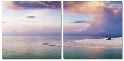 Wholesale Interiors VC-2157AB Pastel Romance Mounted Photography Print Diptych - Each - Peazz.com