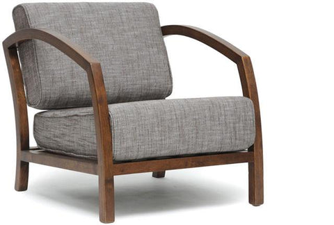 Wholesale Interiors VELDA LOUNGE CHAIR-109/690 Velda Brown Modern Accent Chair - Each - Peazz.com
