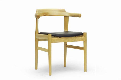Wholesale Interiors WD-824B-Natural Lausch Modern Dining Chair - Set of 2 - Peazz.com