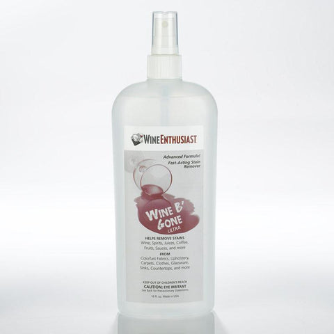 Wine Enthusiast 161 40 01 Wine B'Gone Stain Remover Spray (16 oz.) - Peazz.com