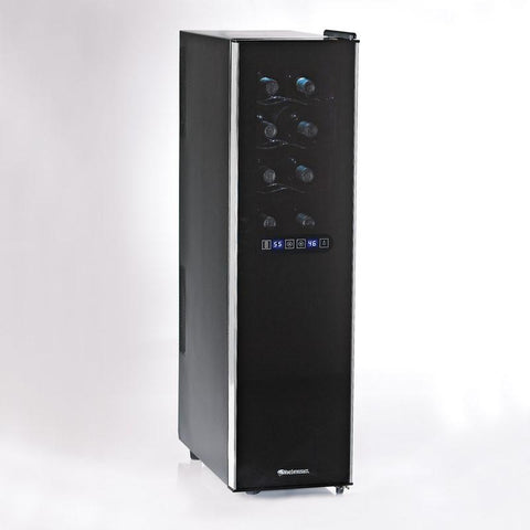 Wine Enthusiast 272 03 02 18 Silent 18 Bottle Dual Zone Touchscreen Slimline Wine Fridge - Peazz.com