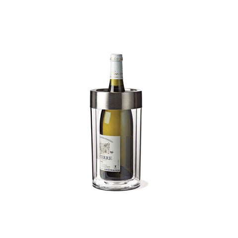 Wine Enthusiast 525 15 Double Walled Iceless Wine Bottle Chiller - Peazz.com