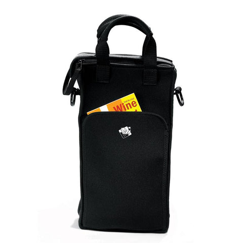 Wine Enthusiast 951 15 02 2 Bottle Neoprene Wine Tote Bag - Peazz.com