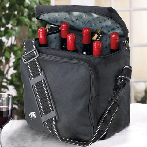 Wine Enthusiast 951 22 Weekend Wine Bag - Peazz.com